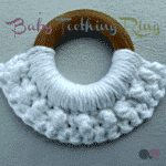 Baby Teething Ring ~ FREE Crochet Pattern