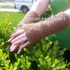 Mistie's Armwarmers by American Crochet