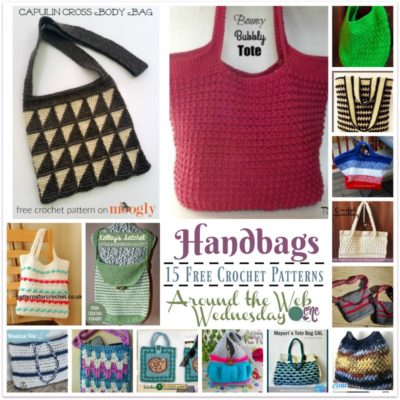 Crochet Handbags ~ 15 FREE Crochet Patterns