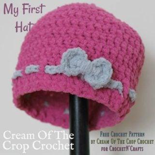 FREE Crochet Pattern by Cream Of The Crop Crochet for CrochetN'Crafts