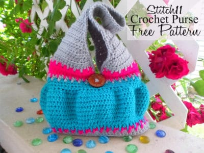 Stitch11 Crochet Purse by Stitch11