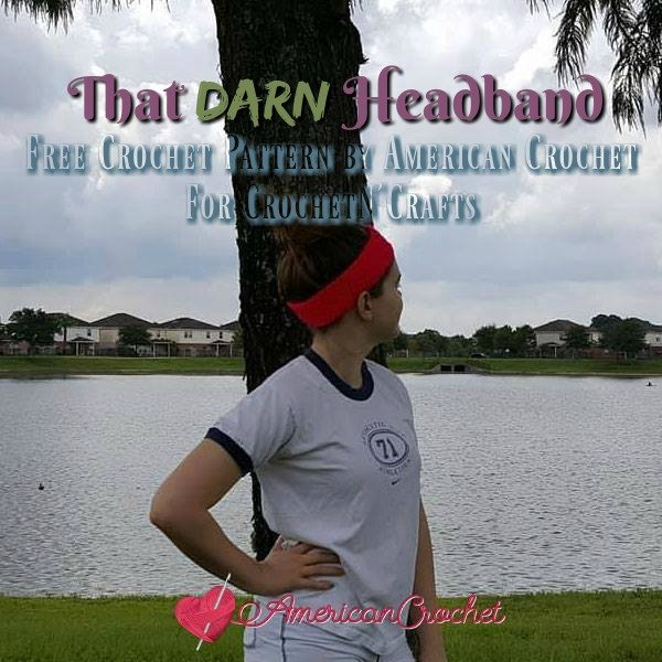 That Darn Headband ~ FREE Crochet Pattern by American Crochet