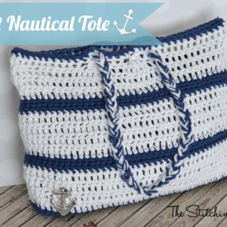 Nautical Tote by The Stitchin' Mommy