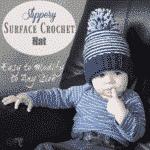 Slippery Surface Crochet Hat