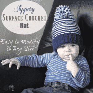 Slippery Surface Crochet Hat ~ FREE Crochet Pattern