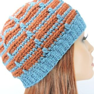 Dashes Beanie by CrochetKim