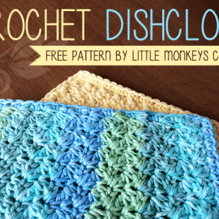 Dishcloth by Little Monkeys Crochet