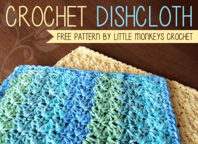 Dishcloth by Little Monkeys Crochet