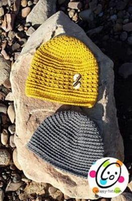 Quick Ridges Beanie by Snappy Tots