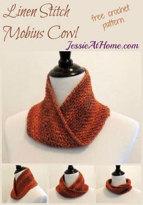 Linen Stitch Mobius Cowl by Jessie At Home