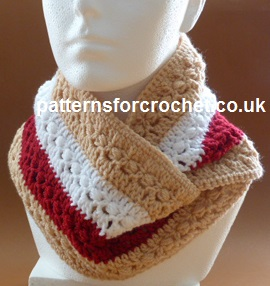 Autumn Cowl by Patterns For Crochet