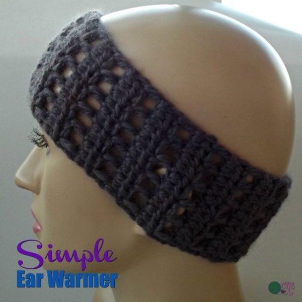 Simple Ear Warmer ~ FREE Crochet Pattern