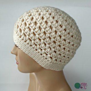 Simple Ponytail Hat ~ FREE Crochet Pattern