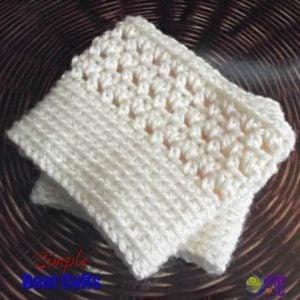 Simple Boot Cuffs ~ FREE Crochet Pattern