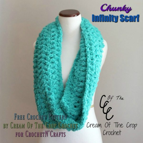Chunky Infinity Scarf By Cream Of The Crop Crochet Crochetncrafts