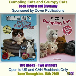Dumpling Cats and Grumpy Cats ~ Book Review and Giveaway Sponsored by Dover Publications