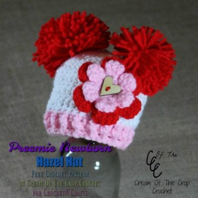 Free Crochet Pattern by Cream Of The Crop Crochet