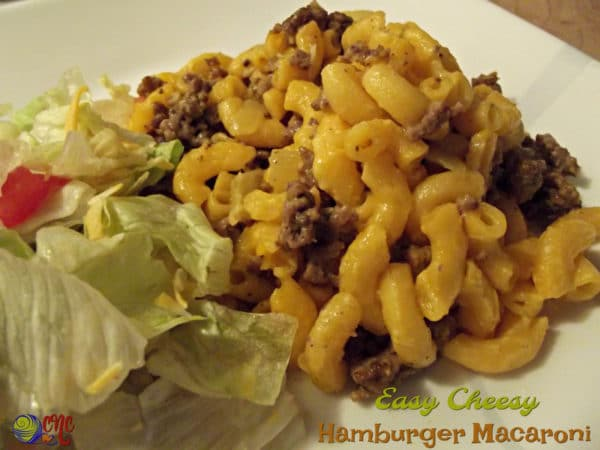 Easy Cheesy Hamburger Macaroni Recipe