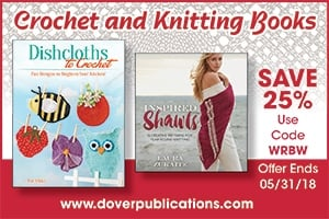 Crochet and Knitting Books at Dover Publications