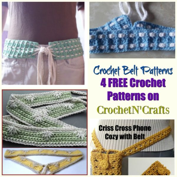 Crochet Belt Patterns Archives Crochetncrafts