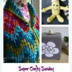 Super Crafty Sunday Link Up and Giveaway #3