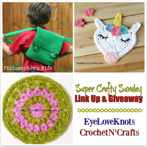 Super Crafty Sunday Link Up #6. Featured Items from last party.
