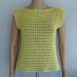 V-Stitch Crochet Top Pattern