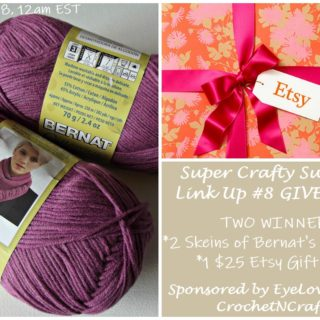 Etsy Gift Card and Yarn Giveaway Sponsored by EyeLoveKnots and CrochetN'Crafts