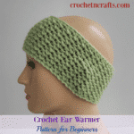 Crochet Ear Warmer Pattern for Beginners