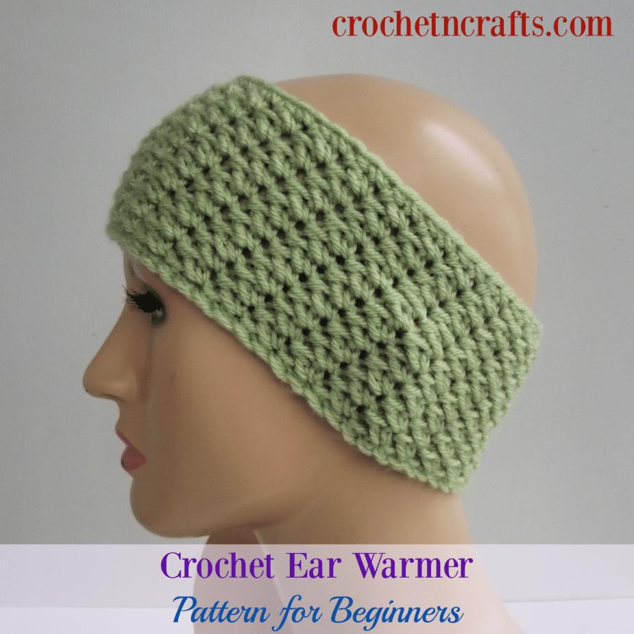 Crochet Ear Warmer Pattern For Beginners Crochetncrafts