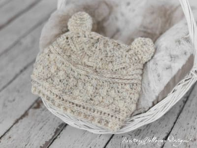 Bear Hugs Beanie by Kirsten Holloway Designs