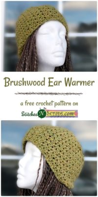 Brushwood Ear Warmer by Stitches n Scraps