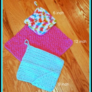 Washcloth with Pockets by Posh Pooch Designs
