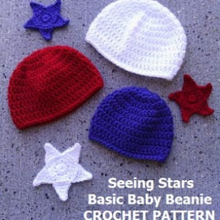 Seeing Stars Beanie by EyeLoveKnots