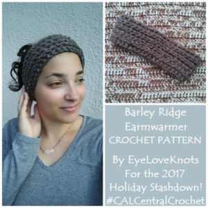 Barley Ridge Earwarmer by EyeLoveKnots
