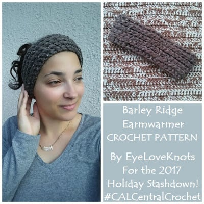Barley Ridge Ear Warmer by EyeLoveKnots