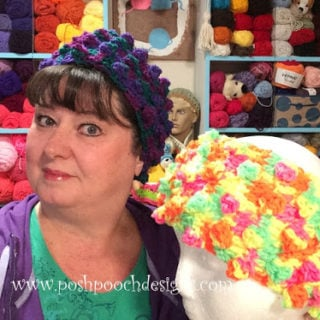 Bobble Head Ear Warmer by Posh Pooch Designs
