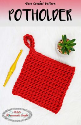 Thermal Stitch Potholder or Washcloth by Nicki's Homemade Crafts