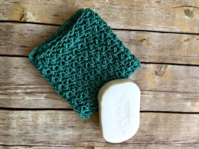 Simple Textured Washcloth by love, life, yarn
