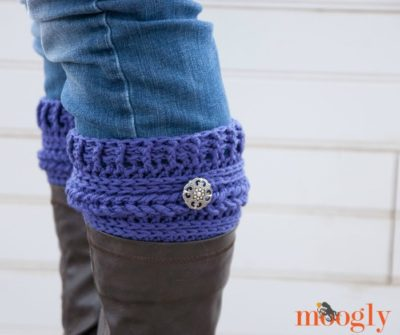 Ups and Downs Boot Cuffs by Moogly