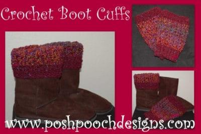 Boot Cuffs by Posh Pooch Designs