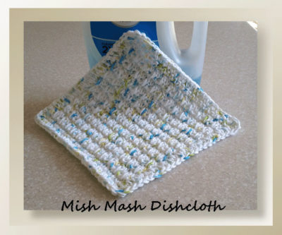 Mish Mash Dishcloth by Crochet Memories