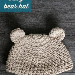 Newborn Baby Bear Hat by Oombawka Design