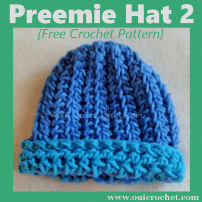 Preemie Hat by Oui Crochet
