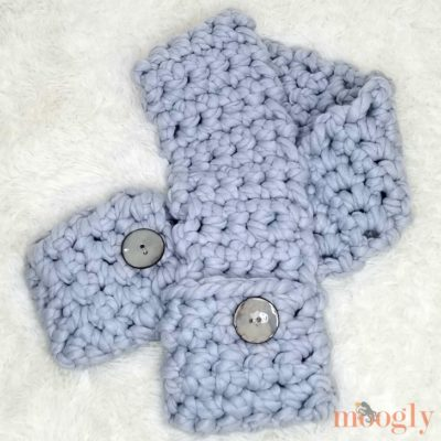Cool Hand Pocket Scarf by Moogly