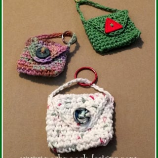 Keychain Bag by Posh Pooch Designs