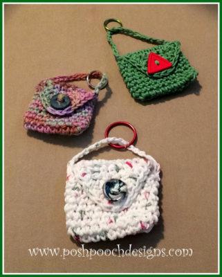 Keychain Bag by Posh Pooch Designs