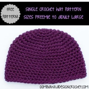 Single Crochet Hat by Oombawka Design Crochet