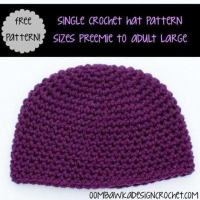 Single Crochet Hat by Oombawka Design Crochet