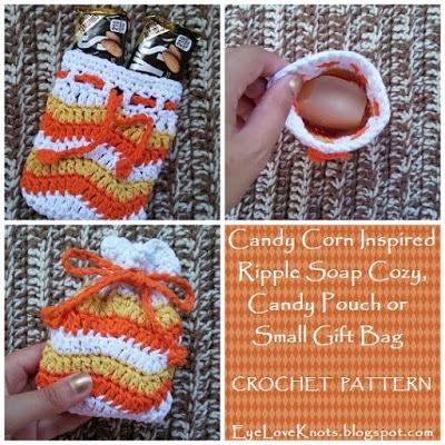 Ripple Soap Cozy by EyeLoveKnots